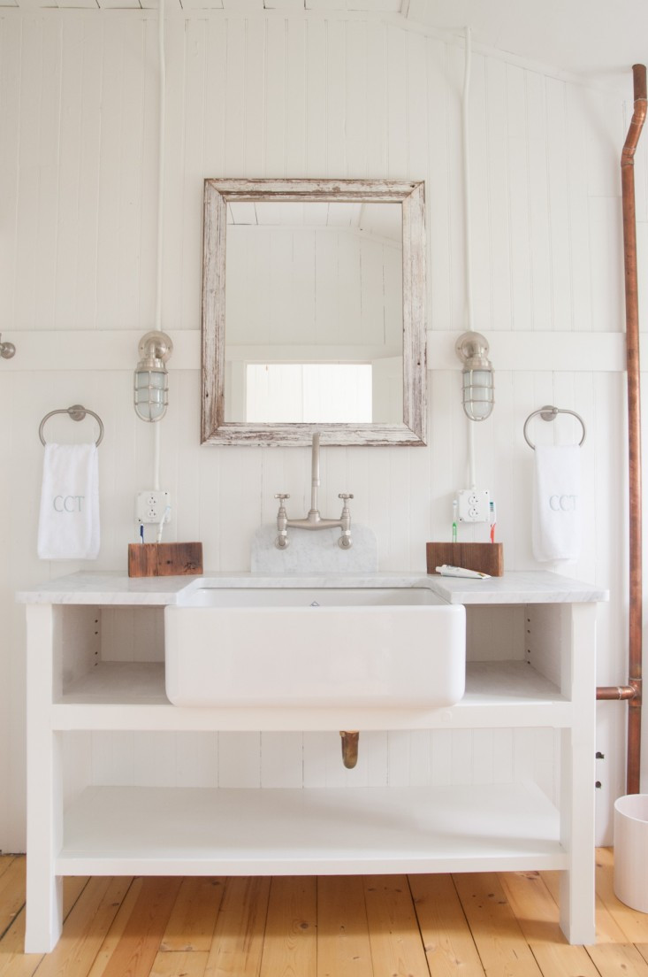 """Best ideas about Farmhouse Bathroom Sink . Save or Pin Tin Roof Farmhouse Project Inspiration Summer """"Cottage"""" Now."""