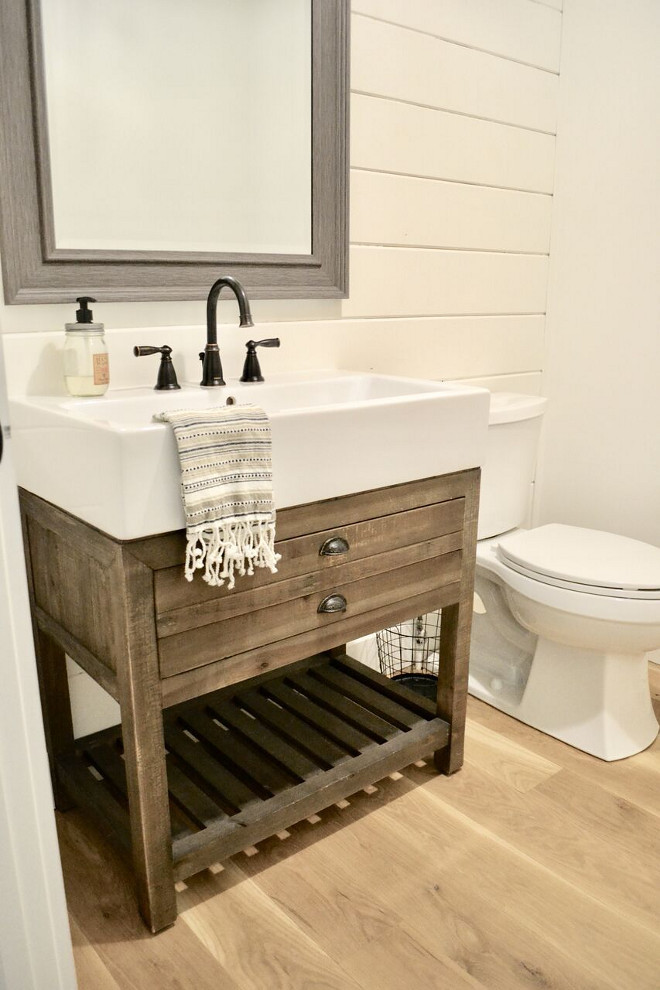 Best ideas about Farmhouse Bathroom Sink . Save or Pin Beautiful Homes of Instagram Home Bunch Interior Design Now.
