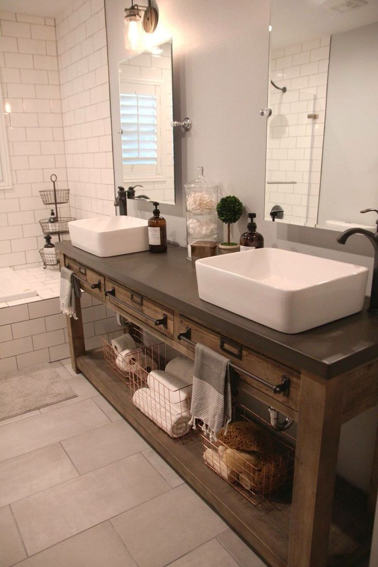 Best ideas about Farmhouse Bathroom Sink . Save or Pin Best 25 Farmhouse bathroom sink ideas on Pinterest Now.