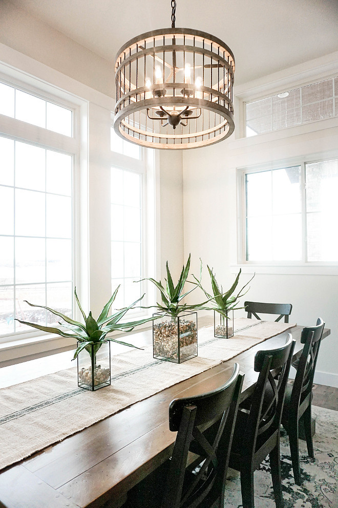 Best ideas about Farmhouse Dining Room Lighting . Save or Pin Beautiful Homes of Instagram Home Bunch Interior Design Now.