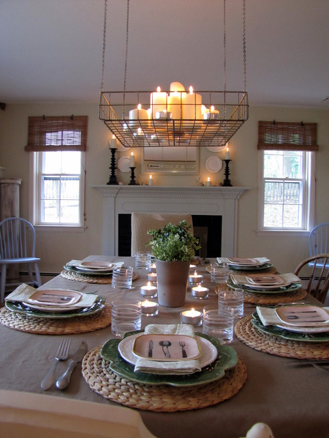 Best ideas about Farmhouse Dining Room Lighting . Save or Pin Farmhouse Casual Now.