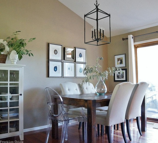 Best ideas about Farmhouse Dining Room Lighting . Save or Pin Farmhouse Dining Room Lighting Ideas And Designs Now.