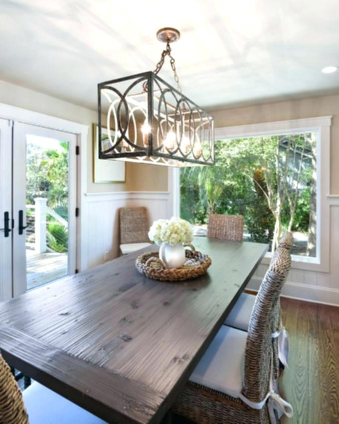 Best ideas about Farmhouse Dining Room Lighting . Save or Pin Farmhouse Dining Room Lighting Kitchen Rustic Best For Now.