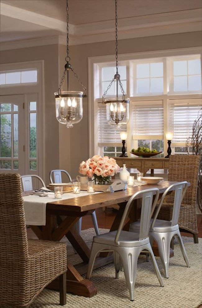 Best ideas about Farmhouse Dining Room Lighting . Save or Pin Transform Your Dining Area With Farmhouse Dining Now.