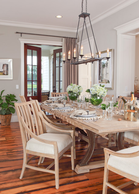 Best ideas about Farmhouse Dining Room Lighting . Save or Pin Lowcountry Cottage Now.
