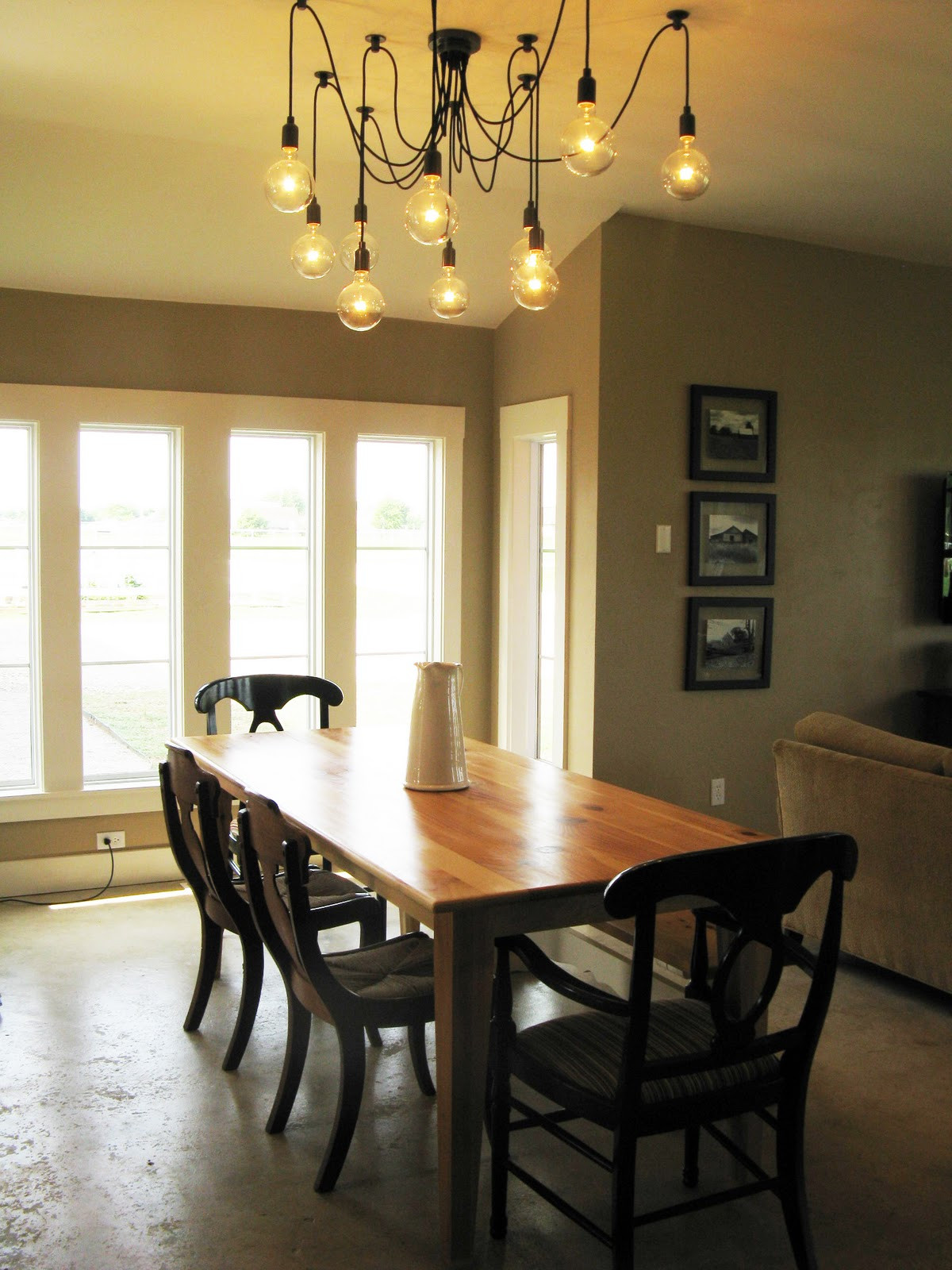 Best ideas about Farmhouse Dining Room Lighting . Save or Pin Farmhouse Now.
