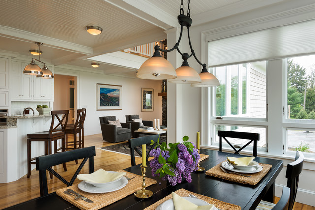 Best ideas about Farmhouse Dining Room Lighting . Save or Pin Gambrel Country Home Farmhouse Dining Room New York Now.