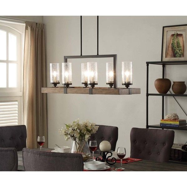 Best ideas about Farmhouse Dining Room Lighting . Save or Pin Affordable and adorable farmhouse lighting Get the look Now.