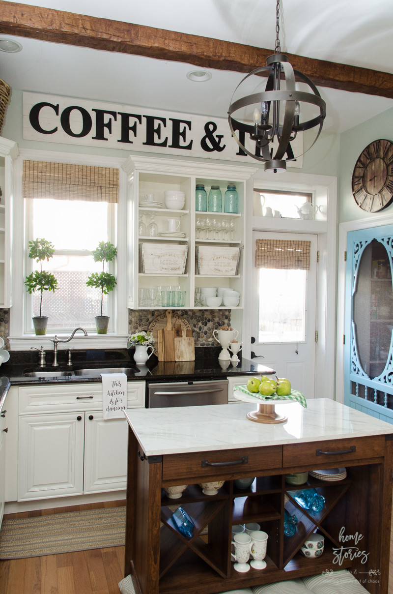 Best ideas about Farmhouse Kitchen Decor Ideas . Save or Pin Spring Decorating Ideas Now.