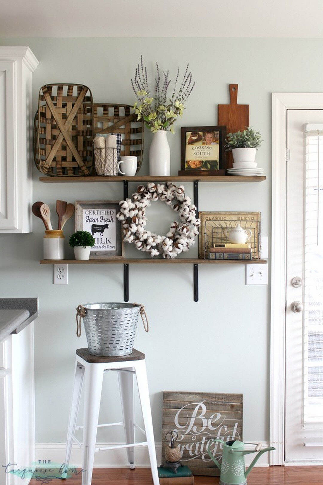 Best ideas about Farmhouse Kitchen Decor Ideas . Save or Pin 36 Best Kitchen Wall Decor Ideas and Designs for 2019 Now.