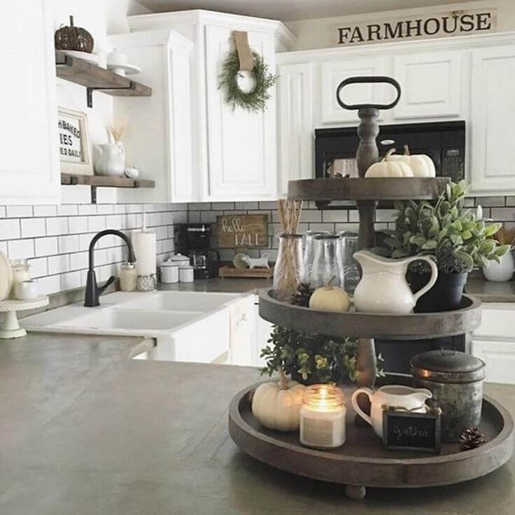 Best ideas about Farmhouse Kitchen Decor Ideas . Save or Pin 50 Best Farmhouse Furniture and Decor Ideas and Designs Now.