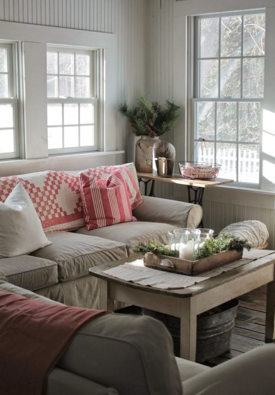 Best ideas about Farmhouse Living Room Ideas . Save or Pin 45 fy Farmhouse Living Room Designs To Steal DigsDigs Now.