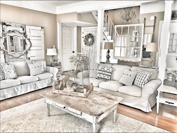 Best ideas about Farmhouse Living Room Ideas . Save or Pin Farmhouse Decor in 10 Stunningly Gorgeous Living Rooms Now.