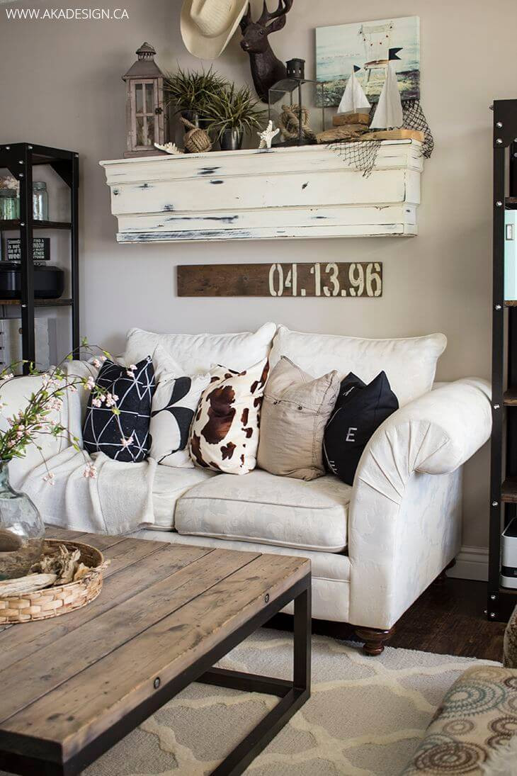 Best ideas about Farmhouse Living Room Ideas . Save or Pin 35 Best Farmhouse Living Room Decor Ideas and Designs for 2019 Now.