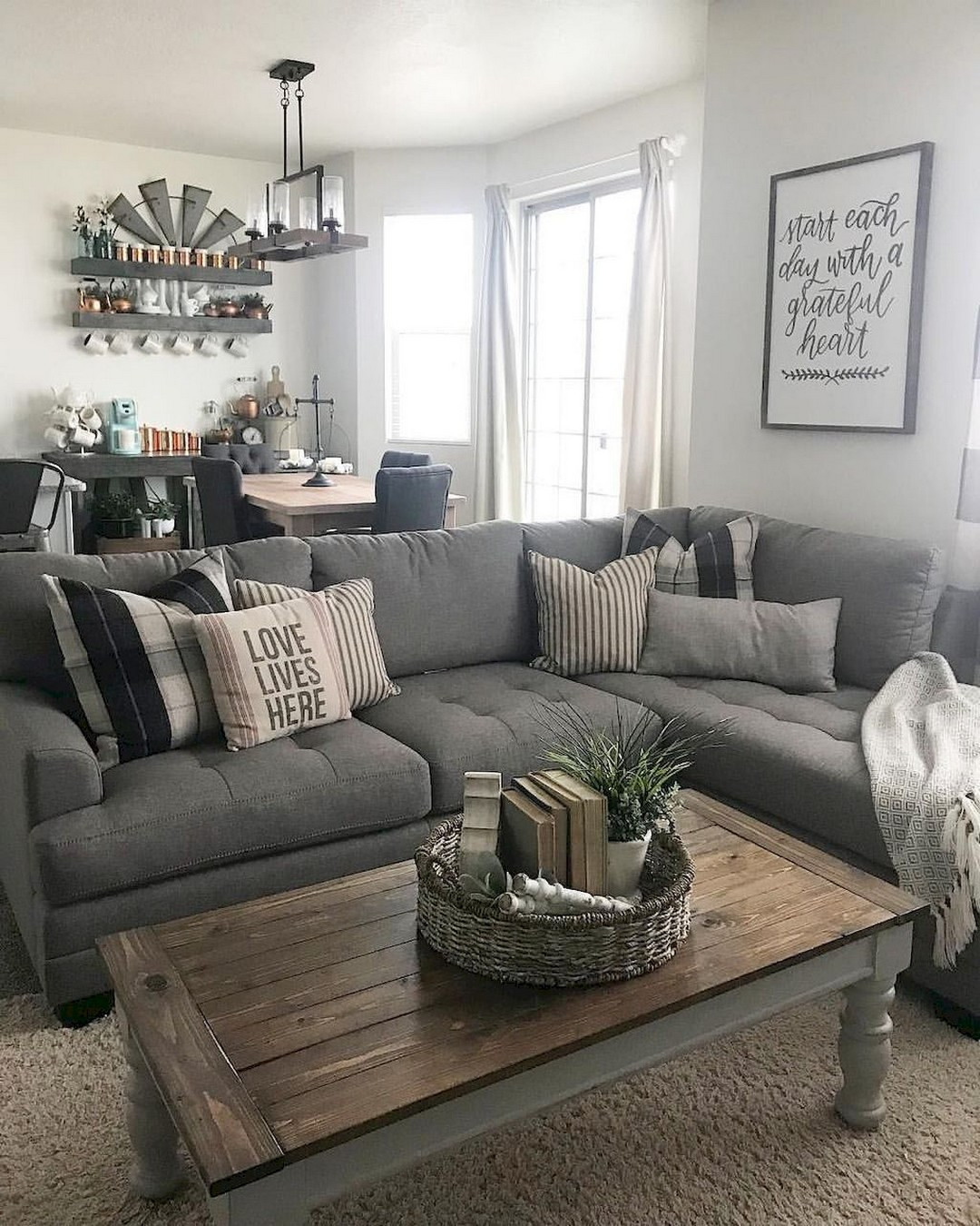 Best ideas about Farmhouse Living Room Ideas . Save or Pin Some Gorgeous Farmhouse Living Room Decors to Improve in Now.