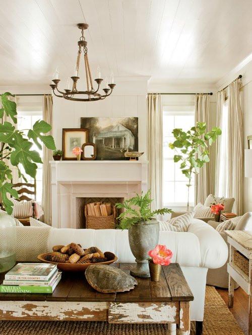Best ideas about Farmhouse Living Room Ideas . Save or Pin Farmhouse Living Room Design Ideas Remodels & s Now.