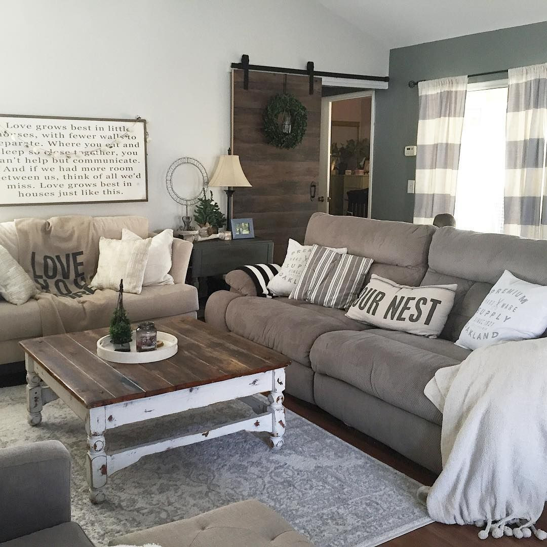 Best ideas about Farmhouse Style Living Room Furniture . Save or Pin This country chic living room is everything rachel Now.