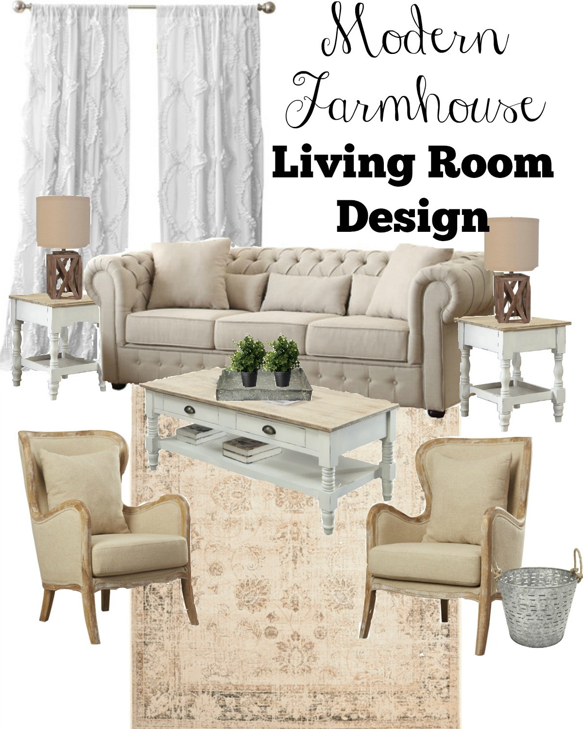 Best ideas about Farmhouse Style Living Room Furniture . Save or Pin 3 Key Tips for a Farmhouse Style Living Room Now.