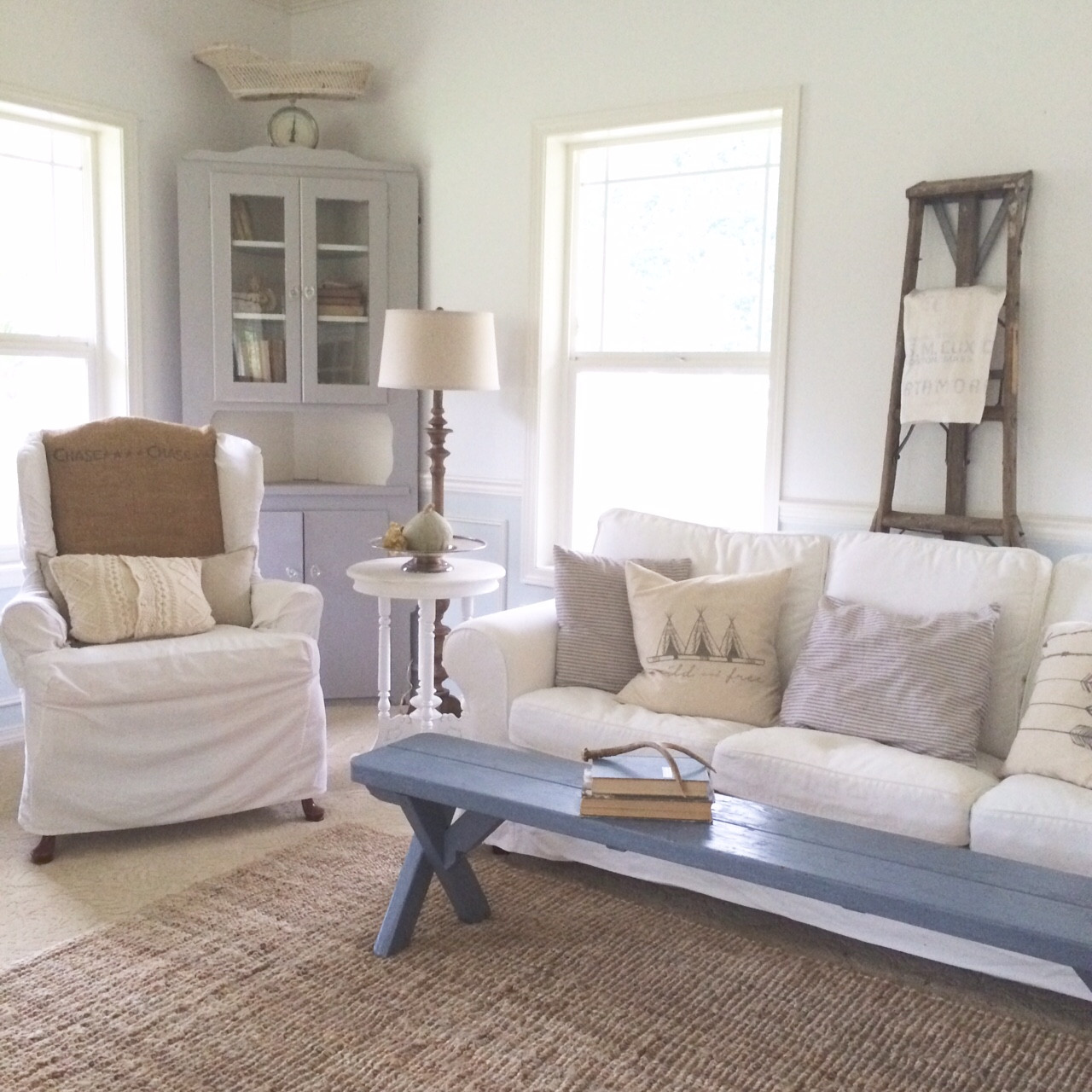 Best ideas about Farmhouse Style Living Room Furniture . Save or Pin Little Farmstead Creating a Farmhouse Style Living Room Now.