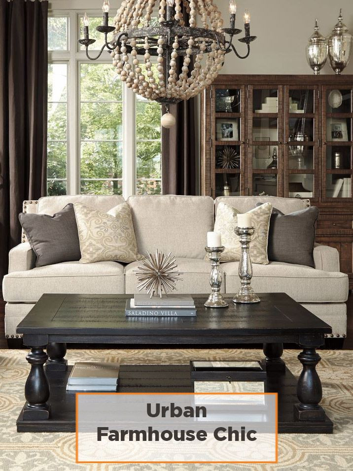 Best ideas about Farmhouse Style Living Room Furniture . Save or Pin 109 best Ashley Furniture images on Pinterest Now.