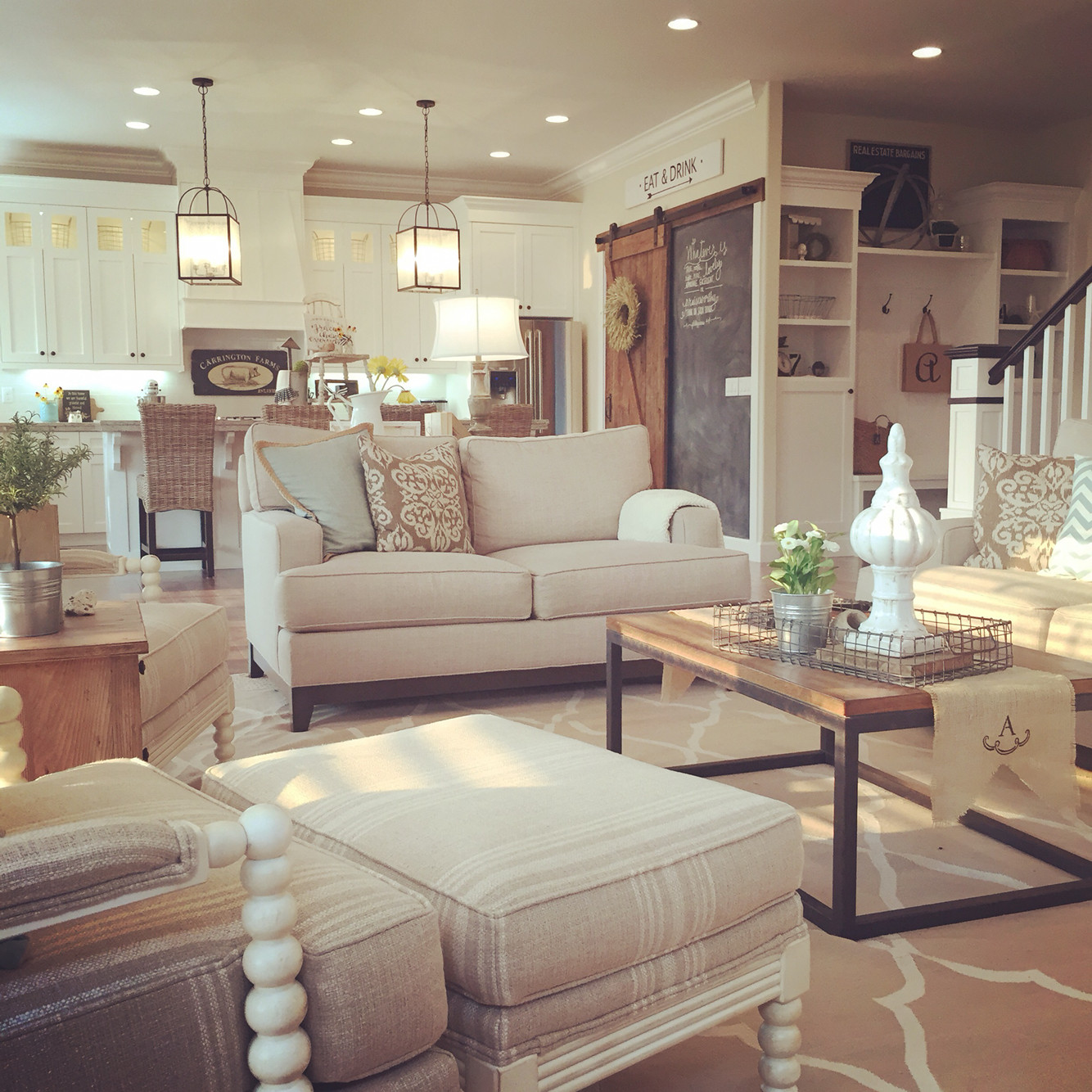 Best ideas about Farmhouse Style Living Room Furniture . Save or Pin Very Characteristic Farmhouse Living Room Furniture Now.