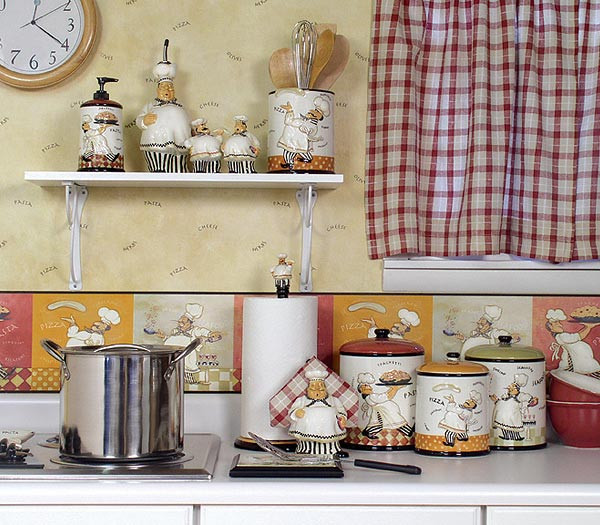 Best ideas about Fat Chef Kitchen Decor At Walmart . Save or Pin Kitchen decor themes ideas fat chef kitchen decor ideas Now.
