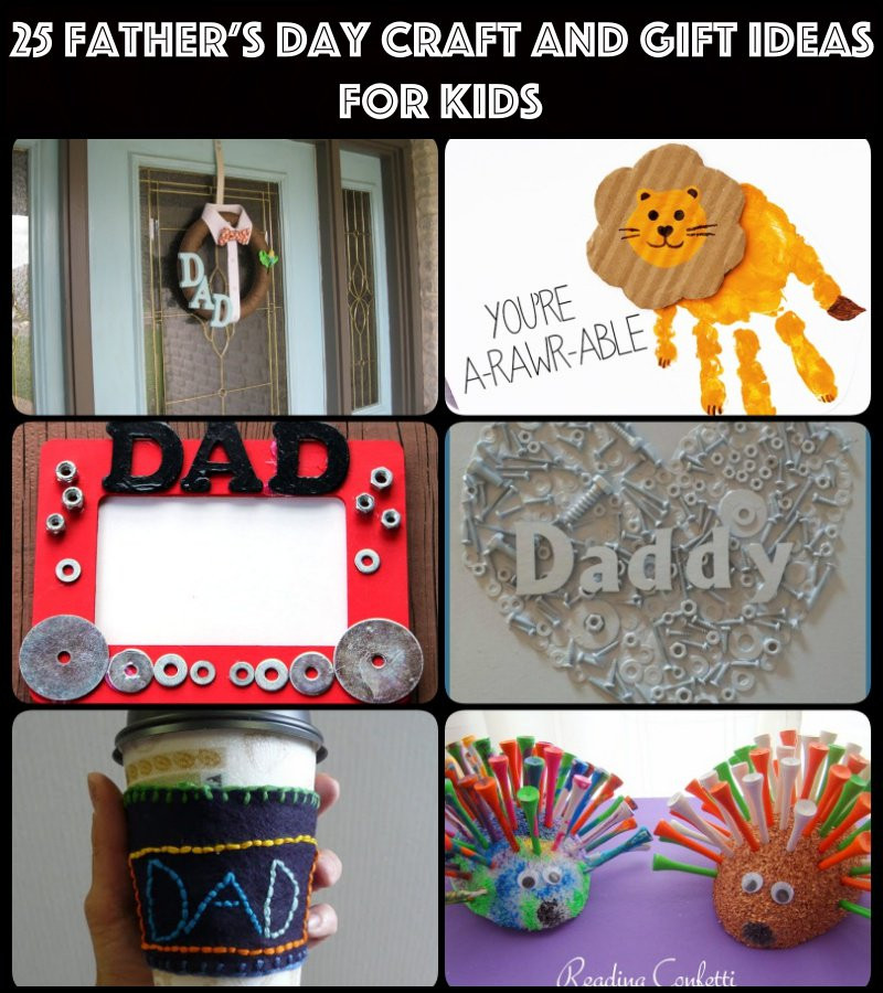 Best ideas about Father'S Day Craft Ideas For Kids . Save or Pin 25 Father's Day Craft and Gift Ideas for kids Now.