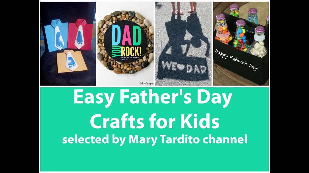 Best ideas about Father'S Day Craft Ideas For Kids . Save or Pin Easy Father s Day Crafts for Kids 50 Best Ideas of Now.