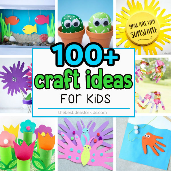 Best ideas about Father'S Day Craft Ideas For Kids . Save or Pin 100 Easy Craft Ideas for Kids The Best Ideas for Kids Now.