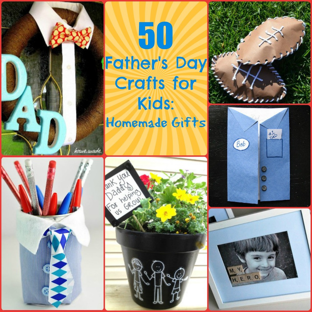 Best ideas about Father'S Day Craft Ideas For Kids . Save or Pin 50 Father s Day Crafts for Kids Homemade Gifts Now.