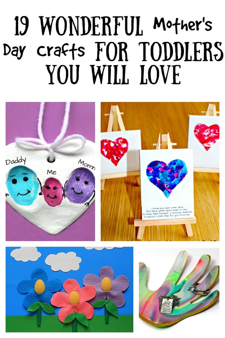 Best ideas about Father'S Day Craft Ideas For Kids . Save or Pin 19 Wonderful Mother s Day Crafts For Toddlers You Will Now.