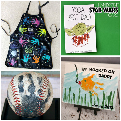 Best ideas about Father'S Day Craft Ideas For Kids . Save or Pin Father s Day Handprint Gift Ideas from Kids Crafty Morning Now.