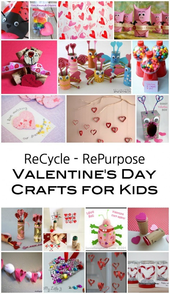 Best ideas about Father'S Day Craft Ideas For Kids . Save or Pin Recycled Kids Crafts for Valentine s Day Emma Owl Now.