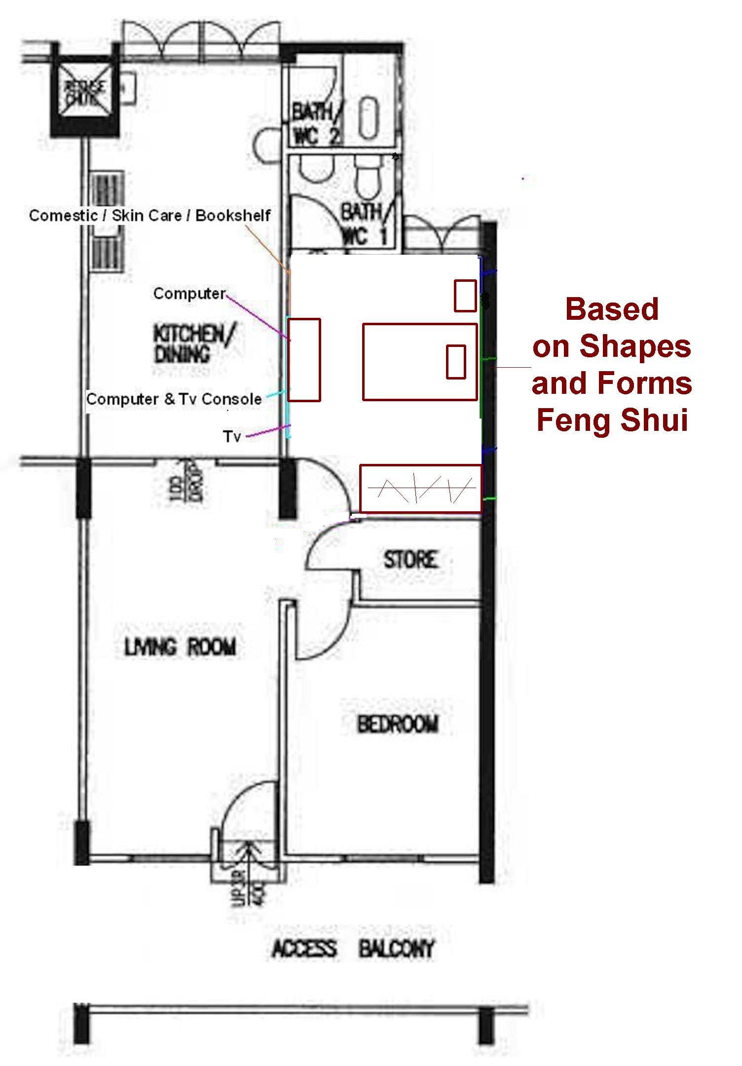 Best ideas about Feng Shui Bedroom Layout . Save or Pin Bedroom Feng Shui General Help FengShui Geomancy Net Now.