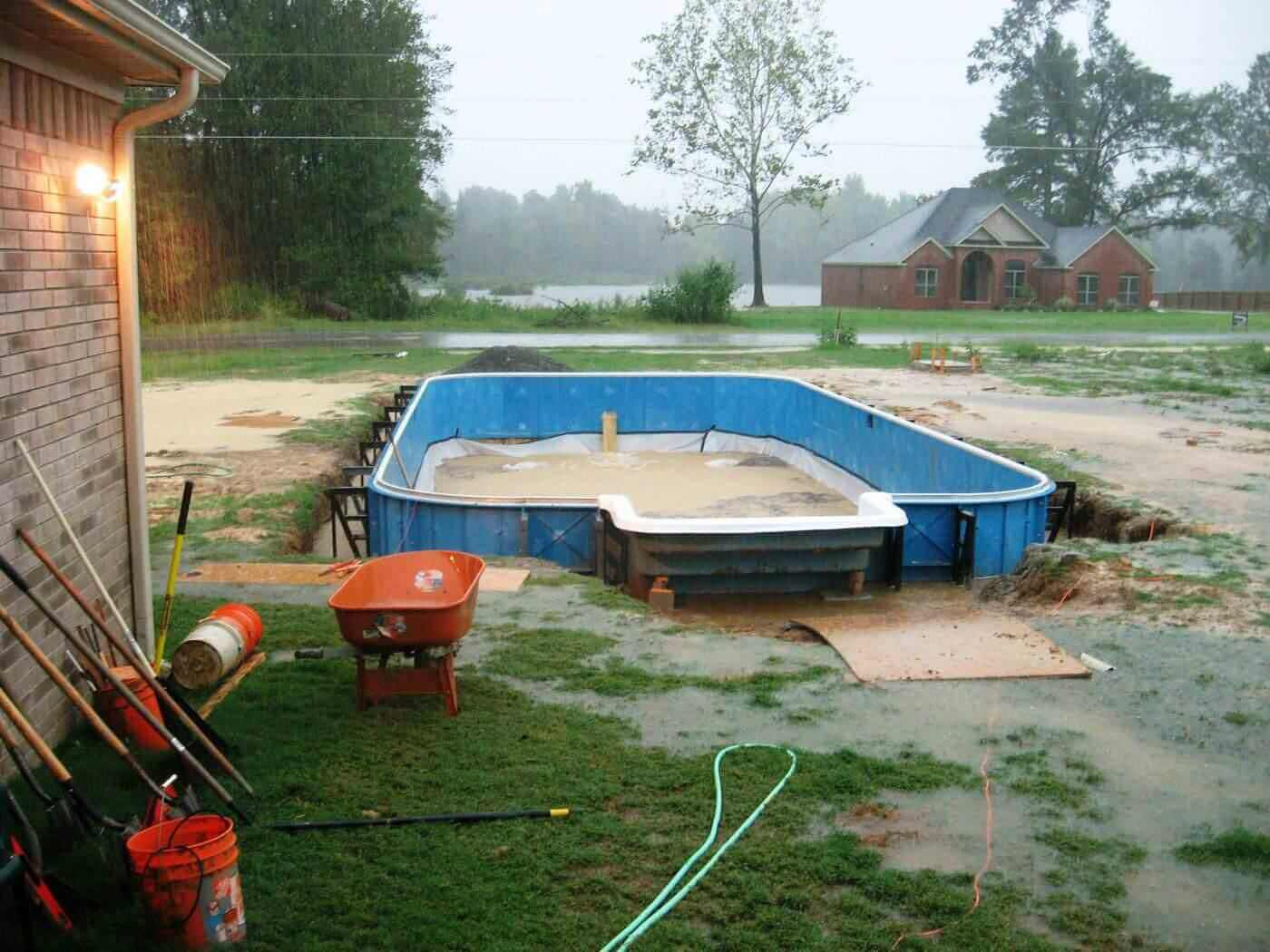 Best ideas about Fiberglass Pool Kits DIY . Save or Pin Inground Pool Kits Now.
