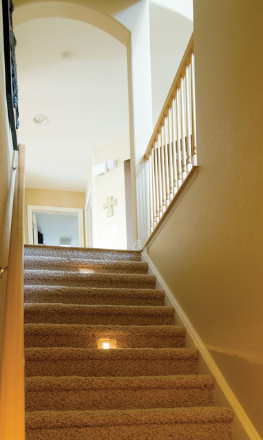 Best ideas about Finished Basement Stairs . Save or Pin Basement Stairs Transitional Staircase denver by Now.