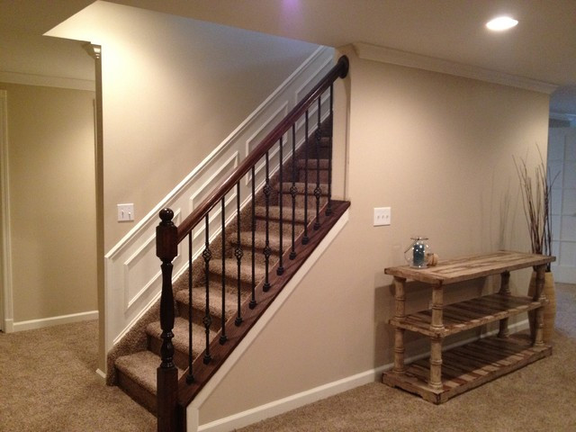 Best ideas about Finished Basement Stairs . Save or Pin Novi Finished Basement Now.