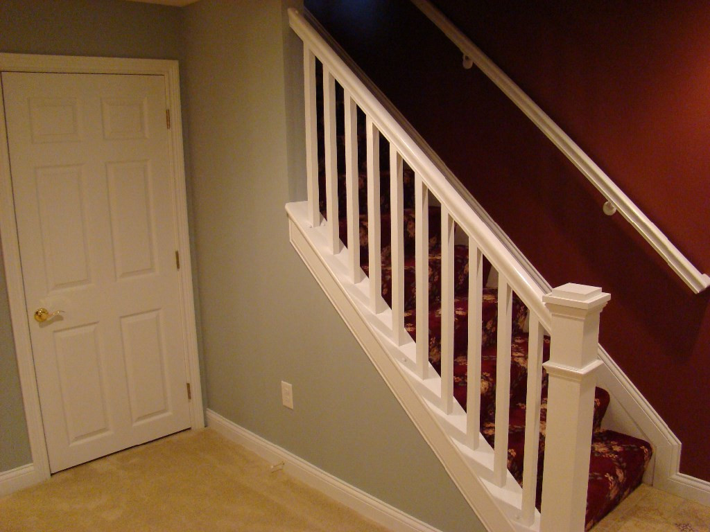 Best ideas about Finished Basement Stairs . Save or Pin Stairs Image Gallery Now.