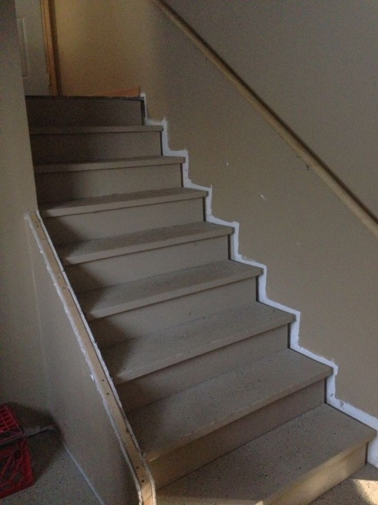 Best ideas about Finished Basement Stairs . Save or Pin Finish basement stairs Finishing the basement Now.