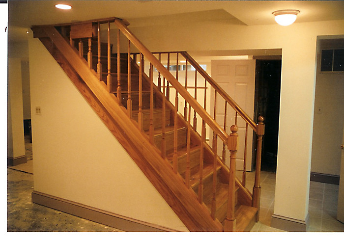 Best ideas about Finished Basement Stairs . Save or Pin Custom Stairs and Trim Now.