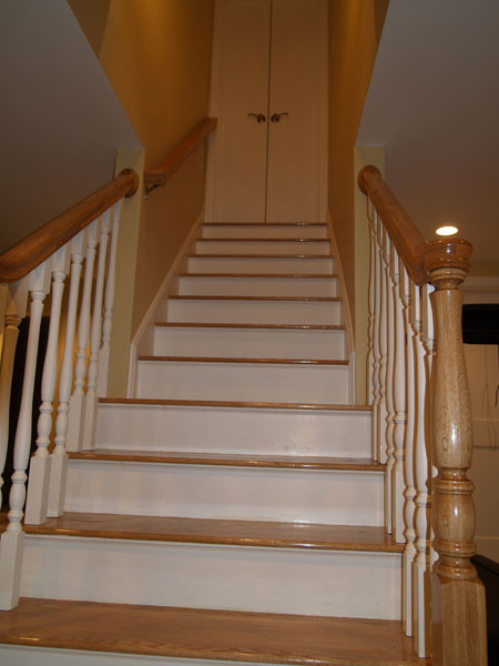 Best ideas about Finished Basement Stairs . Save or Pin Capozzi Construction Inc Now.