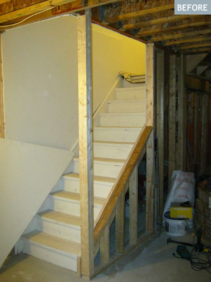 Best ideas about Finished Basement Stairs . Save or Pin Best 25 Open basement stairs ideas on Pinterest Now.