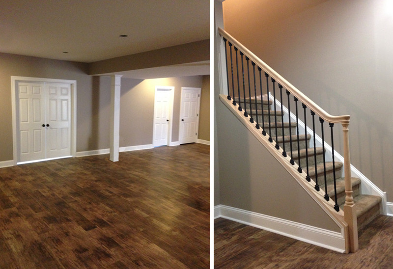 Best ideas about Finished Basement Stairs . Save or Pin Finished Basements Now.