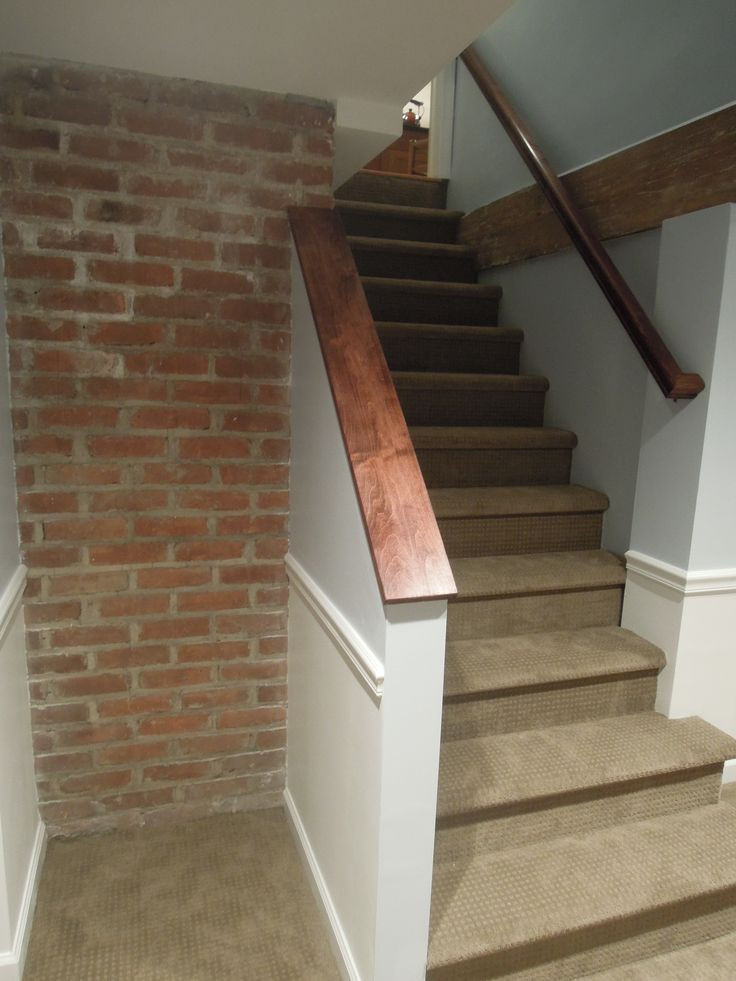 Best ideas about Finished Basement Stairs . Save or Pin Finished basement stairs Now.