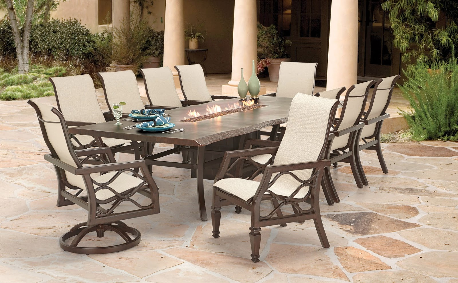 Best ideas about Fire Pit Dining Table . Save or Pin Pride Family Brands To Add Contemporary Style To New 2016 Now.