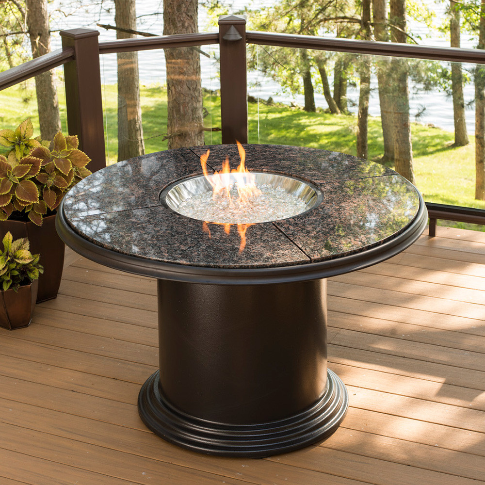 Best ideas about Fire Pit Dining Table . Save or Pin Grand Colonial Dining Gas Fire Pit Table GC 48 DIN K Now.