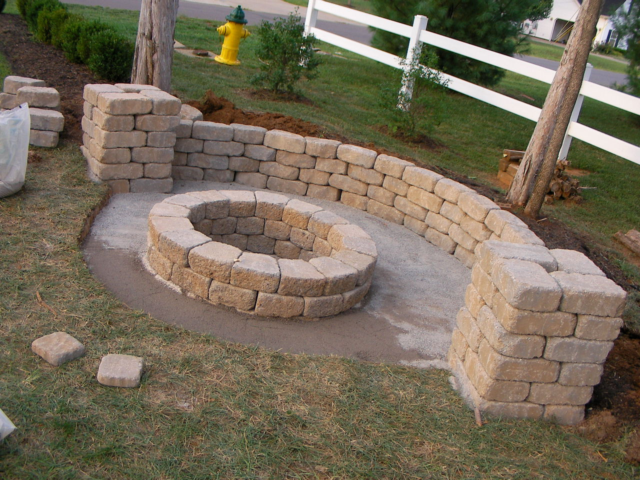 Best ideas about Fire Pits DIY . Save or Pin Creatively Luxurious DIY Fire Pit Project Here to Enhance Now.