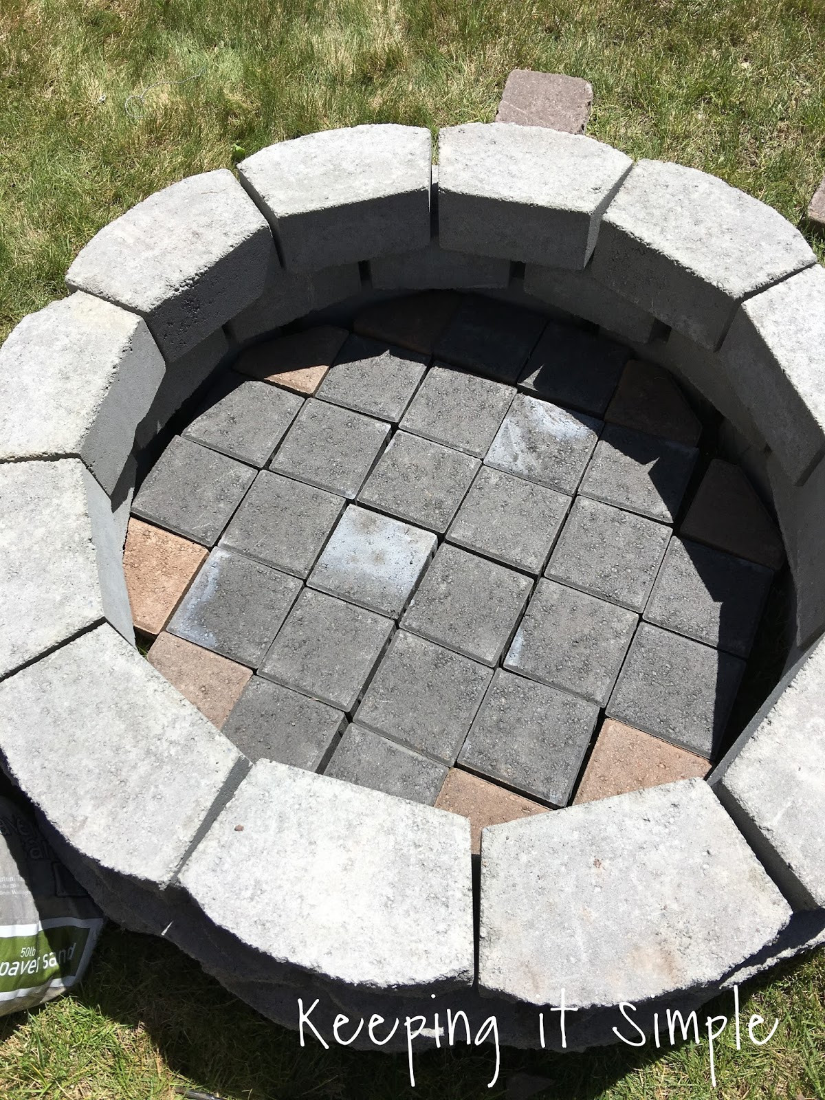 Best ideas about Fire Pits DIY . Save or Pin How to Build a DIY Fire Pit for ly $60 • Keeping it Now.