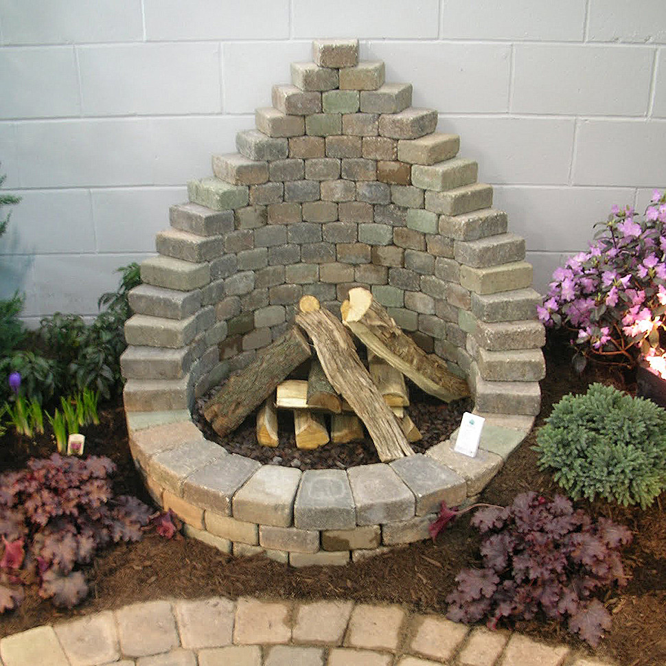 Best ideas about Fire Pits DIY . Save or Pin How to Be Creative with Stone Fire Pit Designs Backyard DIY Now.