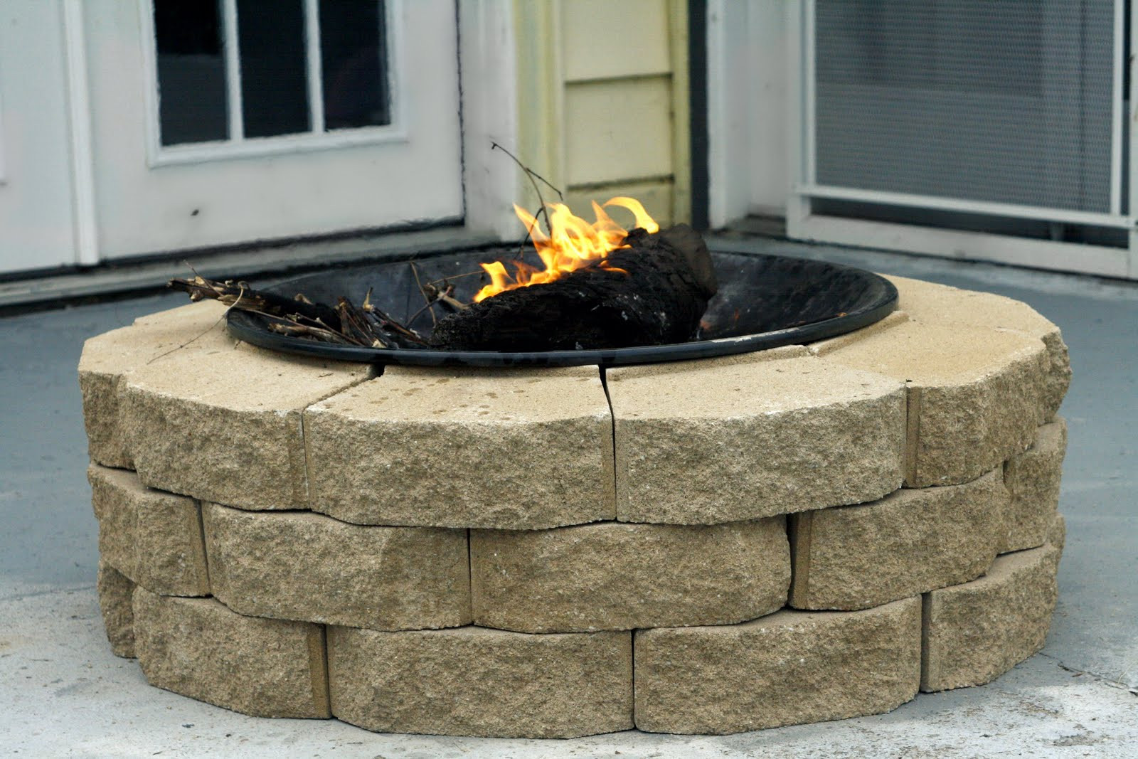 Best ideas about Fire Pits DIY . Save or Pin Always Chasing Life DIY Fire Pit Now.